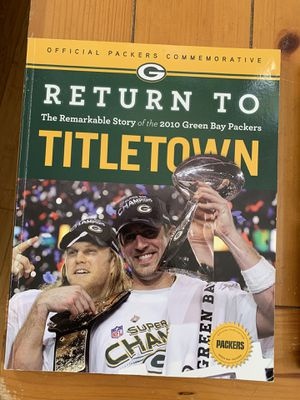 Green Bay Packers books for Sale in San Antonio, TX