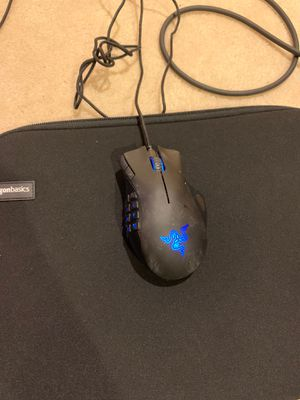 Razer Naga MMOG Laser Mouse 14 buttons for Sale in Chantilly, VA