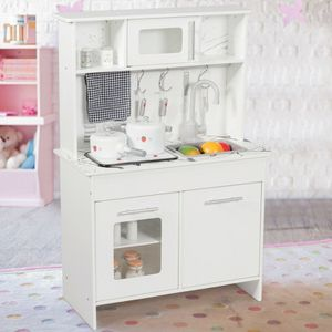 Brand New Kids White Pretend Kitchen Playset with Utensils for Sale in Los Angeles, CA