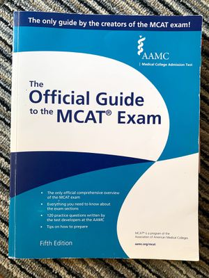 MCAT – The Official Guide to the MCAT Exam, Fifth Edition for Sale in Brooklyn, NY