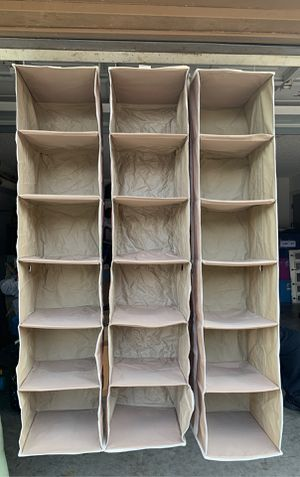 3 Closet Organizers for Sale in Duncanville, TX