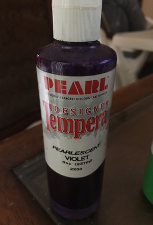 Pearl design tempera pearlescent violet 8oz bottle for Sale in Pembroke Pines, FL