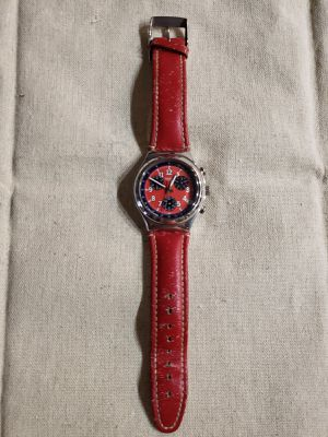Swatch Irony Chronograph Secret Agent Red 1996 - Needs servicing for Sale in Boston, MA