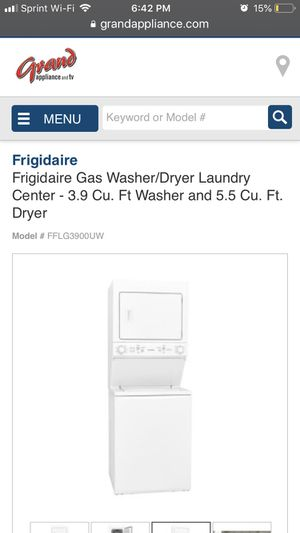 Stackable - apartment size Washer and Dryer for Sale in Chicago, IL