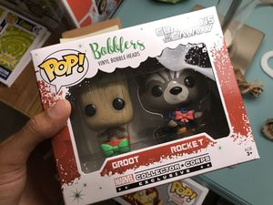Groot and Rocket Bobblers by Funko for Sale in Alexandria, VA
