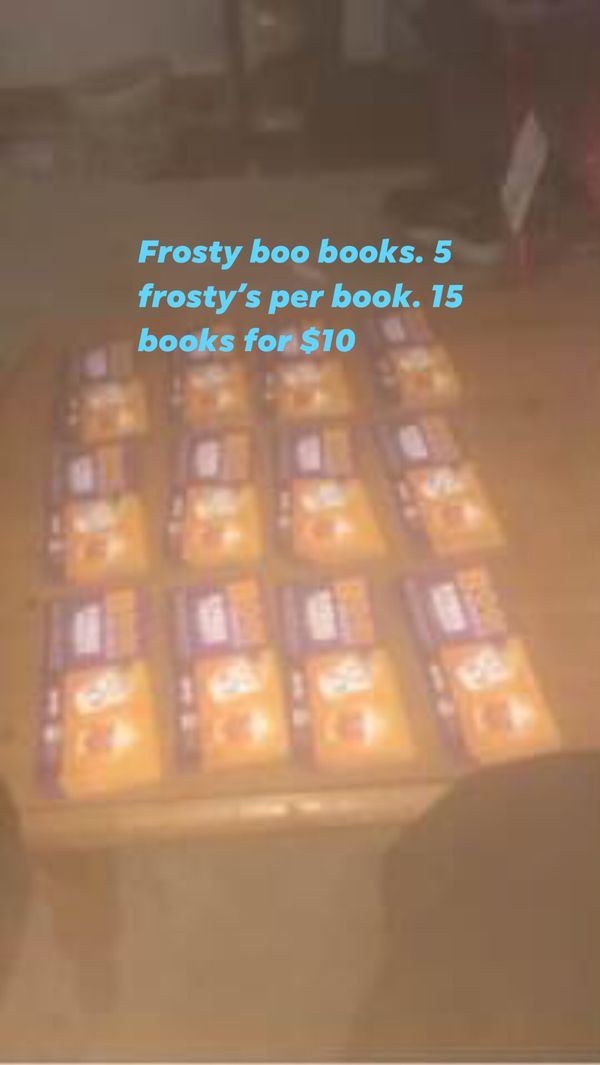 Frosty boo books