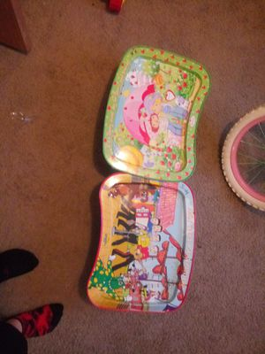 2Childrens trays for Sale in Heath, OH