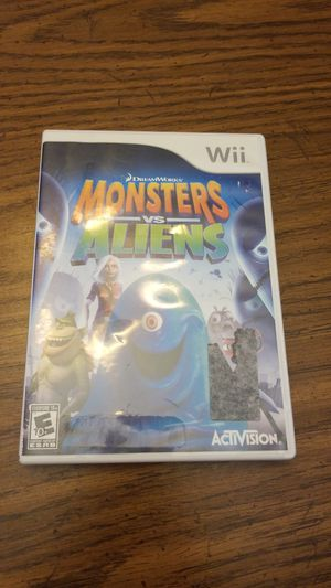 Monsters vs Aliens for Wii for Sale in Amanda, OH