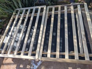 Futon frame of sorts - folds down nicely for Sale in Phoenix, AZ