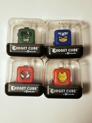 Marvel Fidget Cubes You Get 4 Different Characters for Sale in Elk Grove, CA