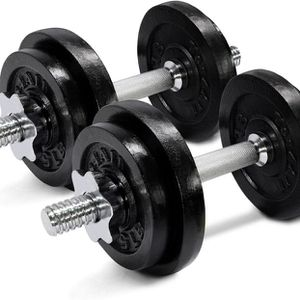 Brand New Yes4All Adjustable Dumbbells - 60 lb Dumbbell Weights (Pair) for Sale in Miami, FL