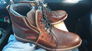 Brown leather Aldo boots size 13 for Sale in Dallas, TX