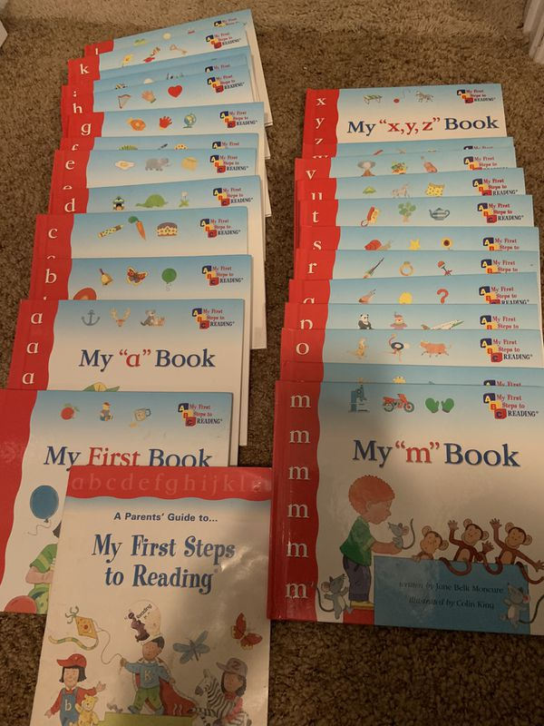 25 books My First Steps to reading (A-Z)