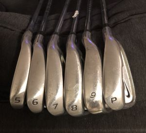 Nike Golf NDS irons 5-PW (9 iron is Taylormade) for Sale in Miami, FL