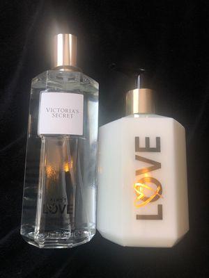 Victoria secret fragrance mist & lotion set new $30 for Sale in Moreno Valley, CA