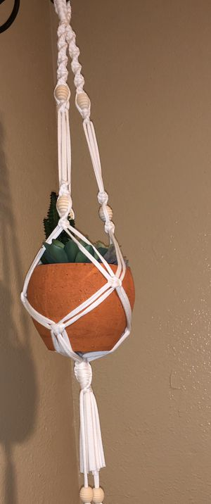 Macrame plant hanger for Sale in Los Angeles, CA