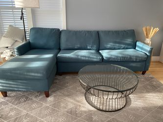 American Leather Left-Hand Facing Sleeper Sectional for Sale in Boston,  MA