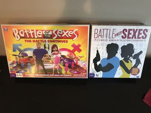 Battle of the sexes board games for Sale in White Bear Lake, MN
