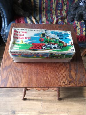 Vintage Metal Battery operated Toy Train for Sale in Fircrest, WA