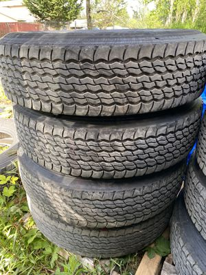 Trailer tires 295/75 R22.5 for Sale in Puyallup, WA
