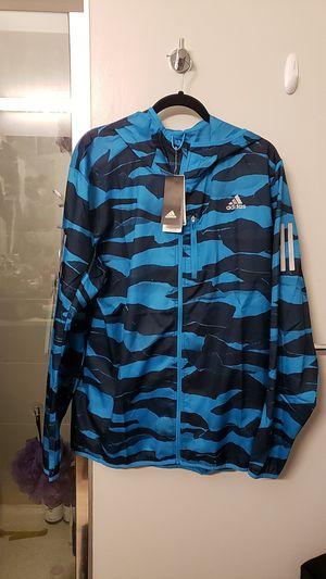 "Adidas men's ""own the run"" reflective windbreaker for Sale in Denver, CO"