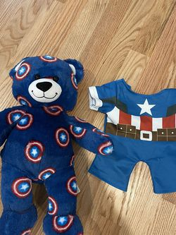 Captain America Build A Bear With Outfit for Sale in Beaverton,  OR