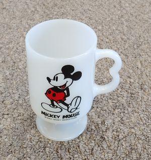 Vintage Milk Glass Mickey Mouse Walt Disney Production Mug for Sale in Burlington, NC