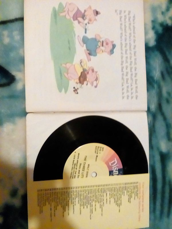 Antique book and record
