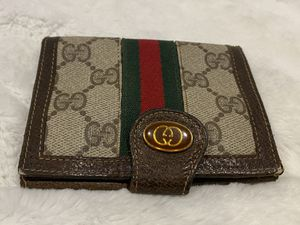 Gucci Ophidia GG tan red and green wallet for Sale in Oregon City, OR