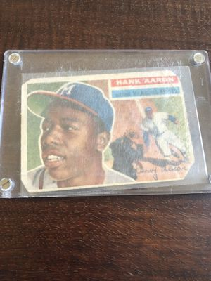 2 Hank Aaron cards for Sale in Round Rock, TX