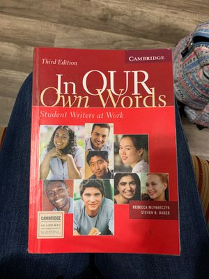 """ In our own words"" book of ESL for Sale in Richmond, CA"