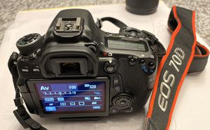 Canon EOS 70D Digital SLR Camera for Sale in Danvers, MA