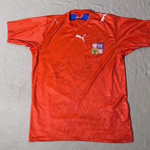Puma Czech Republic Soccer Jersey Men's XL 2006 World Cup for Sale in SeaTac, WA