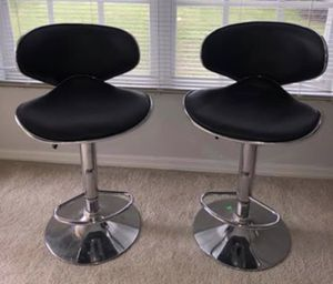 NEW BLACK, WHITE, RED ADJUSTABLE BAR STOOLS CHAIR IN BOX!!. Two for $140 for Sale in Hialeah, FL