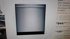 Bosch SHX68T55UC STAINLESS STEEL DISHWASHER for Sale in Pico Rivera, CA