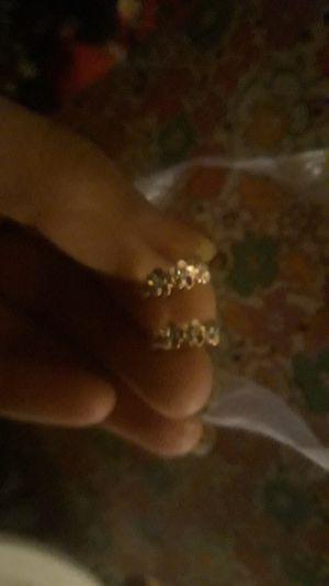 rose gold Little Flower hoop earrings for Sale in Mesa, AZ