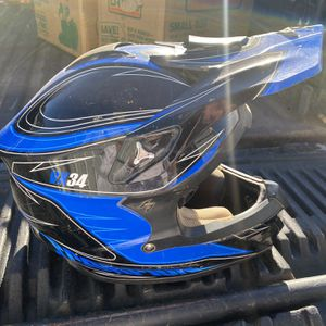 Youth Motorcycle Helmet With Air Pump for Sale in Portland, OR