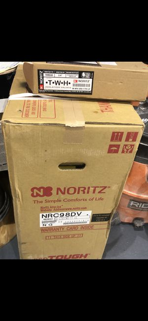 Hot Water heater brand new in bow with set of valves for Sale in Philadelphia, PA