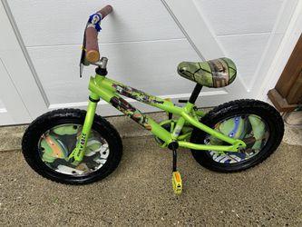 Ninja turtle bike 16 inch With Training Wheels for Sale in North Bend,  WA