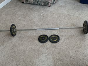 Weight bar for Sale in Wakefield, MA
