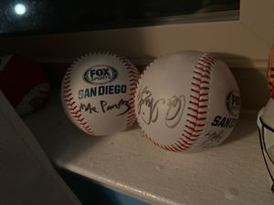 Padres signed ball for Sale in Escondido, CA