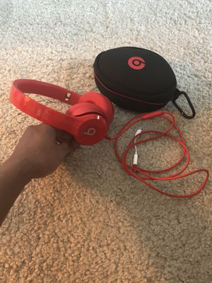 Product Red Solo Beats Wired for Sale in West Palm Beach, FL