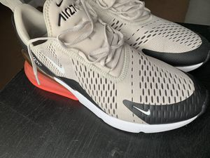 Black and bone air max 270's for Sale in Martinsburg, WV