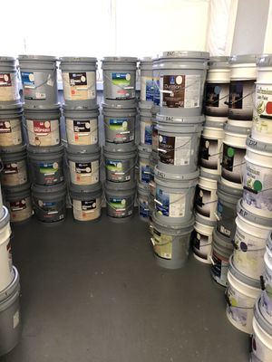 5 Gallon Buckets of Interior Paint for Sale for Sale in Houston, TX