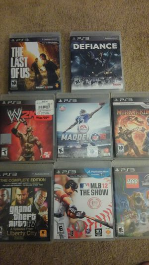 PS3 games for Sale in Ford City, PA