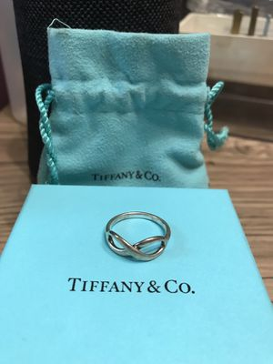 Tiffany and Co. Infinity Ring for Sale in Dallas, TX