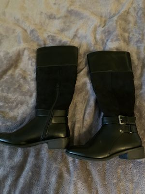 2 Pairs of Shoes - Boots Size 6.5 - Mules Size 7 for Sale in Seattle, WA
