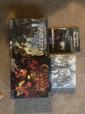 Shadows over brimstone board game for Sale in Raleigh, NC