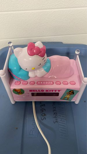 Hello kitty radio and alarm for Sale in Beaverton, OR