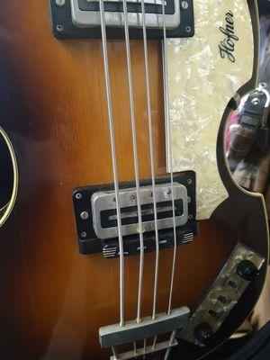 Hofner Violin Bass 500/1 for Sale in Mercedes, TX